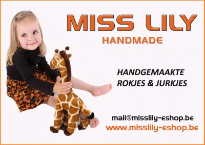 Flyer MissLily-Eshop.be
