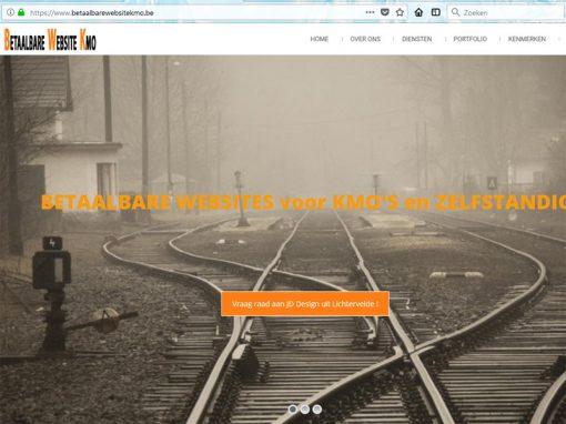 Betaalbare Website Kmo