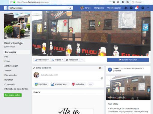 Café Zeswege Facebook