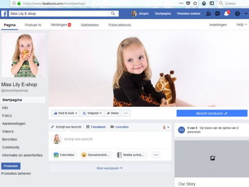 Miss Lily Facebook